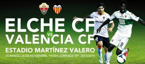 Sorteo de 2 entrada para el ElcheCF – Valencia CF