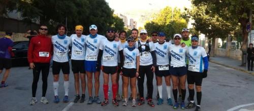 Trofeo para CT Travesías Mitos en la Media Maratón de Montaña Serra D'Oltà (Calpe)