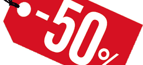 PROMOCIÓN 50%