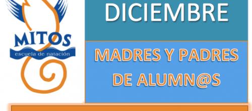 PADRES Y MADRES, PROMOCIÓN DE DICIEMBRE!!!