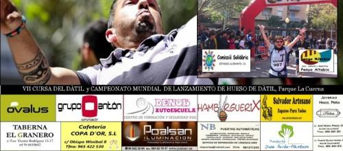 MITOS, CENTRO DE INSCRIPCIONES DE LA CURSA DEL DÁTIL 2015