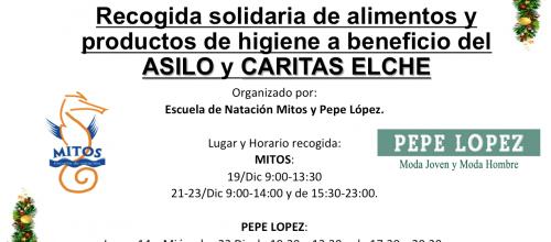 ROCOGIDA SOLIDARIA DE ALIMENTOS Y PRODUCTOS DE HIGIENE