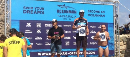 FRAN CAMPEÓN de la OCEANMAN TABARCA, 10Km a nado