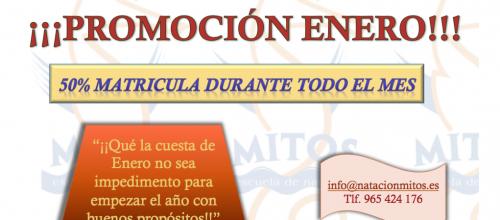 50% EN ENERO!!!